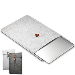 Laptop 15.6 inch china online shopping - Laptop Sleeve Bag for Macbook Air Inch Felt Case for Macbook Pro Retina Inch Protective Cover For Xiaomi