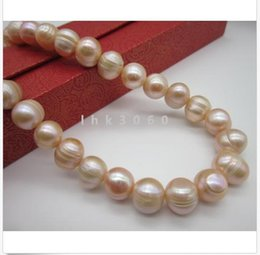 China charming AAA+ 12-13MM South Sea Pink Pearl Necklace 35 Inch 14k yellow gold clas cheap 35 inch south sea pearls suppliers