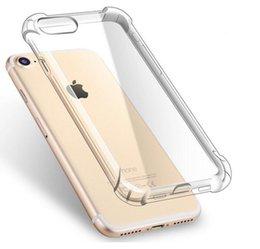 Ultra ince Şeffaf Şeffaf TPU Silikon Kılıf iphone XS MAX XR 6 7 6 S Artı Koruyun Kauçuk Telefon Kılıfı Için iPhone 8 7 Artı