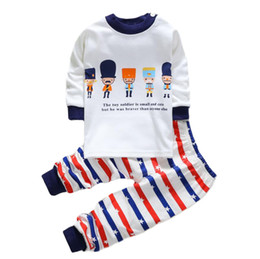 $enCountryForm.capitalKeyWord Australia - Children's pajamas winter suit for the girl boy clothes infant baby boy tracksuit sleeping wear toddler home clothes 1 2 3