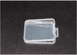 $enCountryForm.capitalKeyWord Australia - Small Box Protection Case Card Container Memory Card Boxs Tool Plastic Transparent Storage Easy To Carry Practical Reuse