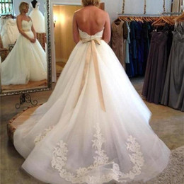 Strapless Full Skirted Wedding Dress Australia - Ivory Full Lace Wedding Dresses Country Style Pluging V-neck Cap Sleeves Keyhole Back A Line Vintage Custom Made Bridal Gowns