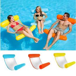 Lit flottant de flottement de flotteur gonflable gonflable d'été de hamac de piscine de hamac d'eau de piscine en Solde