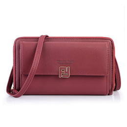 fc8faff1d Boa qualidade Multifuncional Mini Saco de Ombro Feminino Faux Leather  Messenger Bag Mulheres Pequena Bolsa Senhoras Vermelhas Crossbody Grande  Embreagem