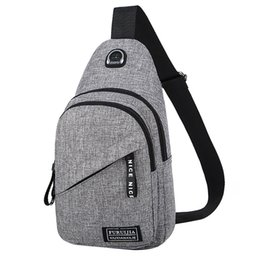 Cloth hobo bags online shopping - Altbest small shoulder bags for men Oxford SHOULDER BAG Cloth Badge Chest Bag Wild Small Bag Fashion Pockets bolso de hombro G30