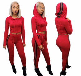 $enCountryForm.capitalKeyWord UK - 114 Women's Sport Suits 2019 Brand New Tracksuit for women sweatshirt and Joggers sets Plus Size Autumn Winter Coat svitshot hoodie