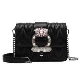 $enCountryForm.capitalKeyWord UK - High quality single shoulder bag cross-body bag portable fashionable ladies diamond chain bag