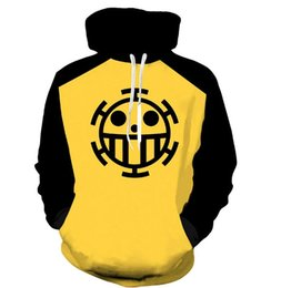 Anime one piece coAt online shopping - Anime One Piece D Hoodie Sweatshirts Trafalgar Law Cosplay Pirates Of Heart Thin Pullover Hoodies Tops Outerwear Coat Outfit