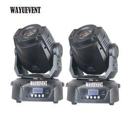 2 pcs 90 W Lyre moving head 90 w led gobos luzes 90 W LED DJ Spot Light LEVOU iluminação de palco venda por atacado