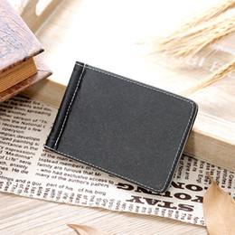ladies new stylish wallet 2019 - New Ultra-Thin Men Stylish Thin wallet leather purse soft men wallets male clutch money bag small pocket cheap ladies ne