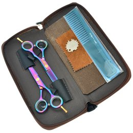 $enCountryForm.capitalKeyWord Australia - Meisha 5.5 Inch Professional Hairdresser's Scissors Kits Good Quality Barbers Hair Cutting Shears Thinning Tijeras Sharp Hair Razors HA0037