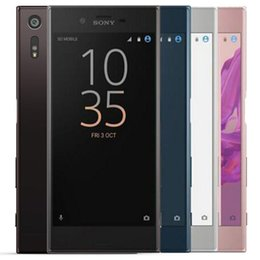 free android cell phones UK - Refurbished Original Sony XZ F8331 F8332 5.2 inch Quad Core 3GB RAM 32 64GB ROM 23MP Unlock 4G LTE Android Smart Cell Phone Free DHL 5pcs