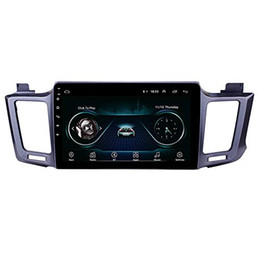 toyota rav4 stereo gps NZ - 10.1 inch Android 9.0 Touchscreen Car GPS Navi Stereo for 2013-2016 Toyota RAV4 with WIFI Bluetooth Music USB AUX support DAB SWC