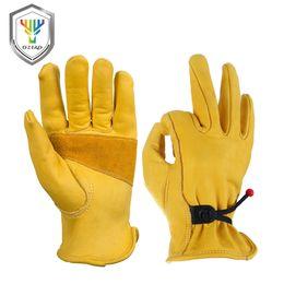 Fingerless motorcycle gloves online shopping - OZERO Men s Fashion Gloves Leather Genuine Cowhide Motorcycle Motocross Motorbike Biker Racing Riding Hand Gloves Moto