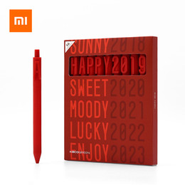 $enCountryForm.capitalKeyWord Australia - Xiaomi ALPHA Gel Pens Black Ink 0.5mm Signing Pens Children Student Writing School Office Supplies Gift Student Stationery