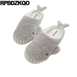 Wholesale animal bedroom most popular products fur indoor house floor shoes slippers cartoon women winter home korean slides plush guest