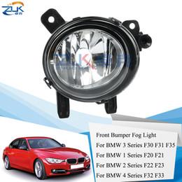 ZUK Front Bumper Fog Lamp Fog Light Foglight For BMW 3`F30 F31 F35 1` F20 F21 2 ` F22 F23 4`F32 F33 on Sale