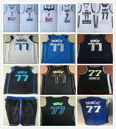 $enCountryForm.capitalKeyWord Australia - Stitched Men Youth Kids Luka 77 Doncic Jersey Real Madrid College Basketball Uniform Doncic Jerseys Wholesale Sports Shirt