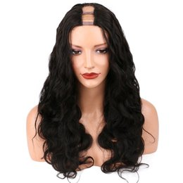$enCountryForm.capitalKeyWord UK - Fashion body wavy high density 130%-150% brazilian virgin human hair u part wigs with combs free shipping