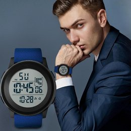 $enCountryForm.capitalKeyWord Australia - Waterproof Mens Watches New Fashion Casual LED Digital Outdoor Sports Watch Men Multifunction Student Wrist watches