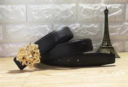 $enCountryForm.capitalKeyWord Australia - Hot selling new Mens womens black belt Genuine leather Business belts Pure color belt snake pattern buckle belt for gift 0381