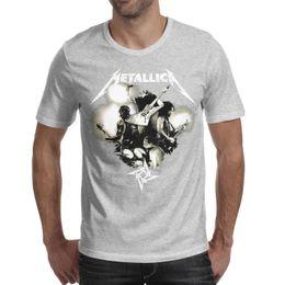 $enCountryForm.capitalKeyWord UK - Medium kumkumarts metallica american band Printed Mens T-Shirts Cute Soft Crewneck Short Sleeve Tshirt
