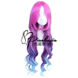 L-email Wig New Game Lol Lux Star Guardian Cosplay Wigs Heat Resistant Synthetic Hair Perucas Cosplay Wig Hair Extensions & Wigs Synthetic Wigs