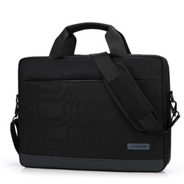 Discount hp inch tablet Business Computer Handbags 14 15.6 inch Computer Laptop Bag Briefcase Handbag for xiaomi Dell Asus Lenovo HP Acer Macboo