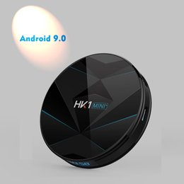 Android Tv Box Fast Australia - RK3318 Android 9.0 TV Box HK1 MINI PLUS 2GB 16GB 2.4G 5G Dual Wifi Cheapest Fast DHL