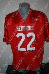 Cheap custom New Ezra Thompson Illinois State Redbirds College NCAA  Football Jerseys Customized Any name number Stitched Jersey XS-5XL 7986372e0