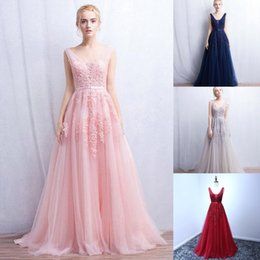$enCountryForm.capitalKeyWord Canada - Hot Sale Sequined 9 Colors Long Evening Dress A Line Sexy Backless Formal Party Gowns Prom Dresses Robe De Soiree Sleeveless Evening Skirts