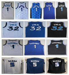 a83f7bb26 2019 Hot Men 1 Penny Hardaway-Trikot 5 # Mohamed Bamba 1 # Tracy McGrady 32  Shaquille Oneal Schwarzes Basketball-Trikot-Stickerei-Logo-Shirt