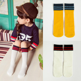 AnimAl girls tube online shopping - Baby Cartoon Striped Stockings Kids Designer Girls High Socks Animals Beard Pattern Printed Cotton Unisex Mid Tube Socks