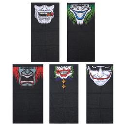 $enCountryForm.capitalKeyWord Australia - Wholesale- Windproof Skull Mouth Mask seamless magic bandanas outdoor sports washouts ride muffler scarf face mask
