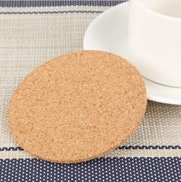 $enCountryForm.capitalKeyWord NZ - Hot Home Bar Natural Cork Coaster Heat Resistant Cup Mat Coffee Tea Drink placemat Tableware Kitchen Decoration