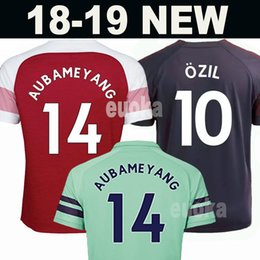 Woman jersey yelloW online shopping - New Arsenal soccer jersey AUBAMEYANG OZIL JERSEY LACAZETTE XHAKA TORREIRA football kit Top Men Women Kids Kits soccer shirt
