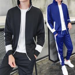 9c10ef9d7f4d6c Nova primavera Outono Homens Sporting Suit Treino de roupas masculinas  adolescentes Set 3XL hoodies + Pant Sweatsuit 2 Peça Sportswear