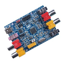 module dsp NZ - Freeshipping 1701 DSP Tuning Module 2 Input 4 Output Analog Tone Board Compatible with ADAU1401A T1274