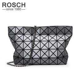 Korean Style Ladies Bags Australia - Wholesale-Women Famous Brands Luxury Baobao Chain Messenger Bags Geometry Style Ladies Crossbody Chain Bag Women's Shoulder Bag