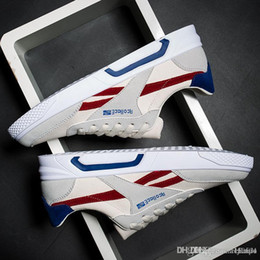 Good Running Lights NZ - STORM Light breathable running shoes Revenge of the storm joint lightning KANYE little brother works three color men shoes good quality