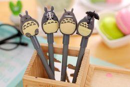 ToToro pen online shopping - 4pcs Novelty Cute My Neighbor Totoro Gel Pen kawaii stationery Caneta for kids writing School Office Supply Escolar Papelaria