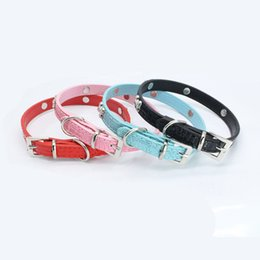 $enCountryForm.capitalKeyWord UK - Metal bone decorative dog collar dog with chain exquisite adjustable buckle metal bone puppy pet collar