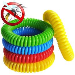 $enCountryForm.capitalKeyWord Australia - Mosquito Repellent Bracelet Stretchable Elastic Coil Spiral Wrist Band telephone Ring Chain waterproof Anti-mosquito Bracelet B11
