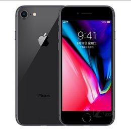 $enCountryForm.capitalKeyWord NZ - Original 4.7inch 5.5inch Apple iPhone8 Iphone 8 Plus Hexa Core 12MP With Fingerprint 4G LTE Mobile Phone Refurbished Cell Phones DHL