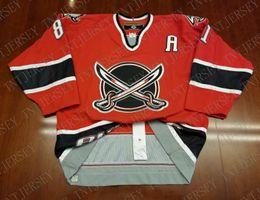 6d1080f49 Cheap custom Miroslav Satan Vintage Buffalo Sabres Koho Center Ice Pro  Jersey Stitched Retro Hockey Jersey XS-5XL
