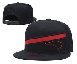 flats bill hats 2020 - Popular Sport Baseball Snapback Hats For Patriot Team Brands Hip Hop Out Door Sun Caps Men's Cheap Flat Bill Sports