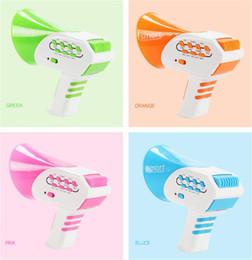 Loudspeaker Cartoon Australia - New cheerleaders plastic trumpet mini loudspeaker smart toy fun cartoon mini color mixed children's party game toys ,free shipping