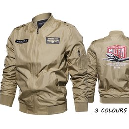 ab8bf58d8 Cross-border Express Amazon wishebay No. 1 Flight Suit Extended Autumn  Jacket Coat