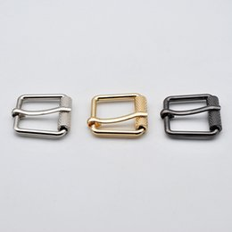 Band Clothes For Australia - Meetee ID15 20MM Pin Belt Buckles 3colors Alloy for Bags Bands Luggage Clothing Adjust Handmade Hardware Accessories AP633