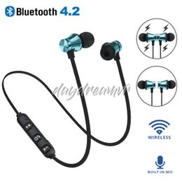 $enCountryForm.capitalKeyWord Australia - Hot sale bluetooth Earphone 4.2 XT11 Sport Neckband Wireless Headset music earpiece With Mic For Xiaomi Headphones Samsung Galaxy S10 plus
